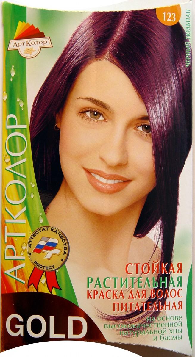 краска для волос оттенка черный тюльпан